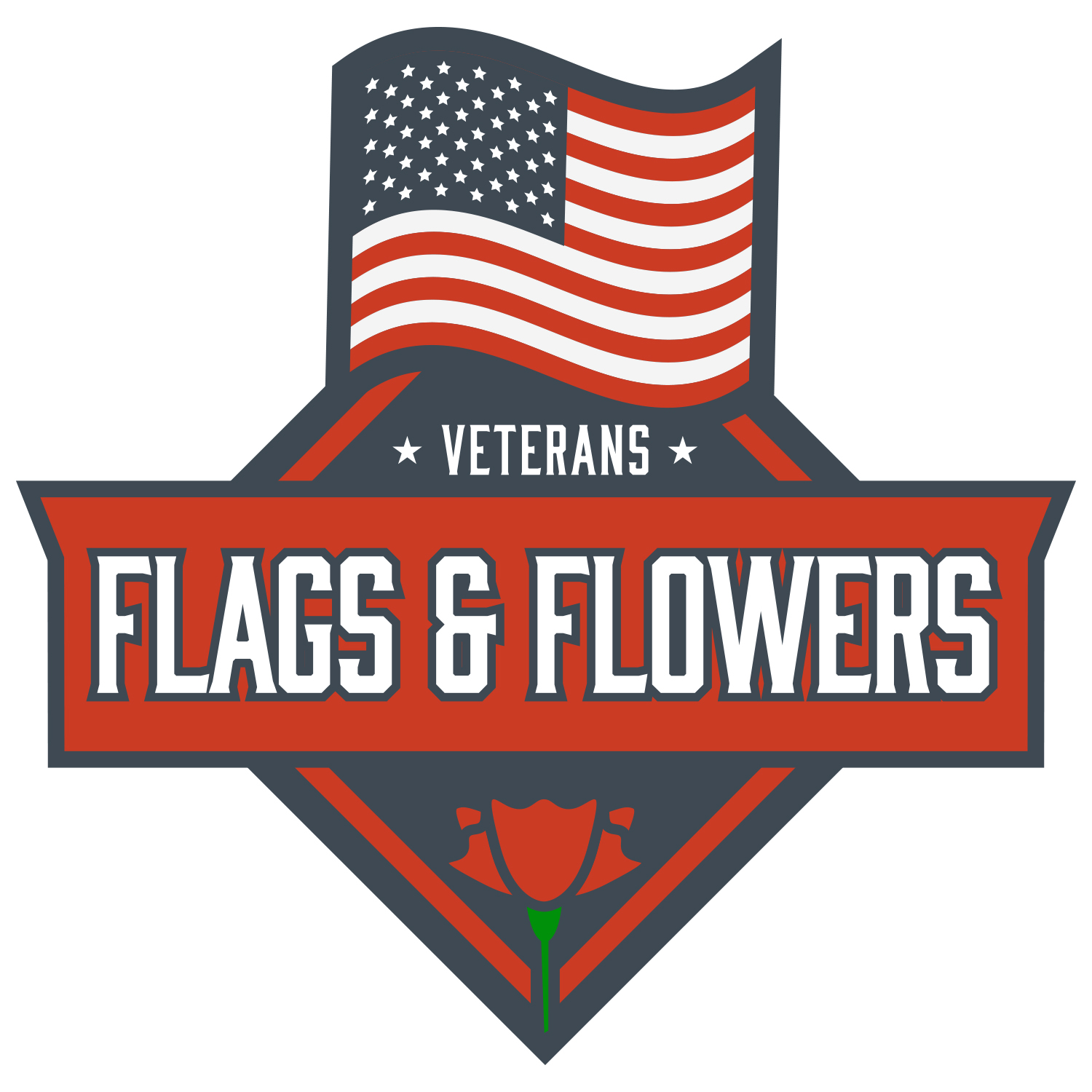 Veterans Flags & Flowers